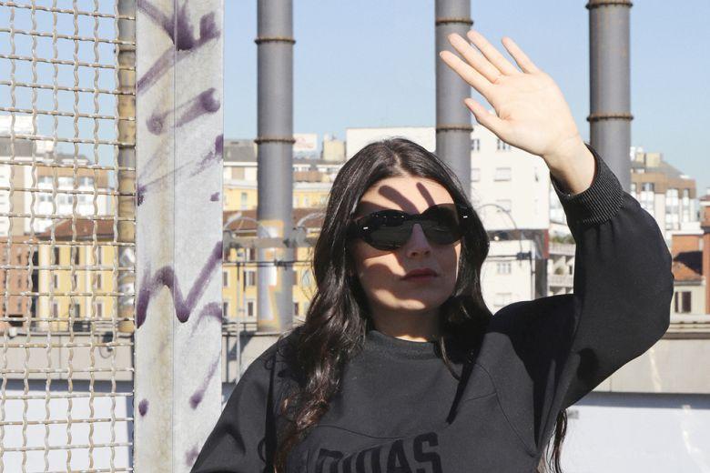 Lucilla Bonaccorsi indossa le nuove Tubular Viral by adidas Originals