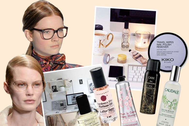 Beauty case da ufficio: i 10 prodotti di bellezza da tenere a portata di scrivania