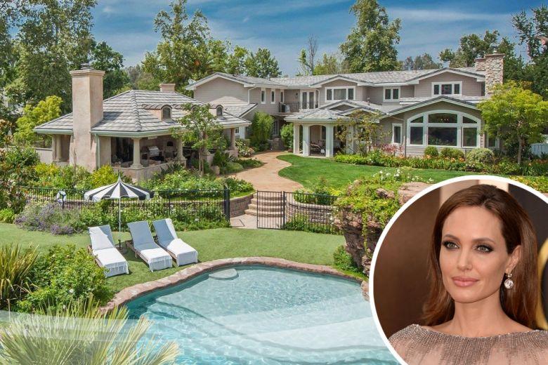 La nuova casa di Angelina Jolie a Los Angeles
