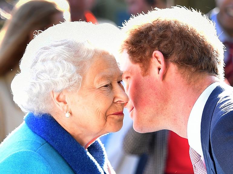 cover principe harry permesso regina sposarsi mobile