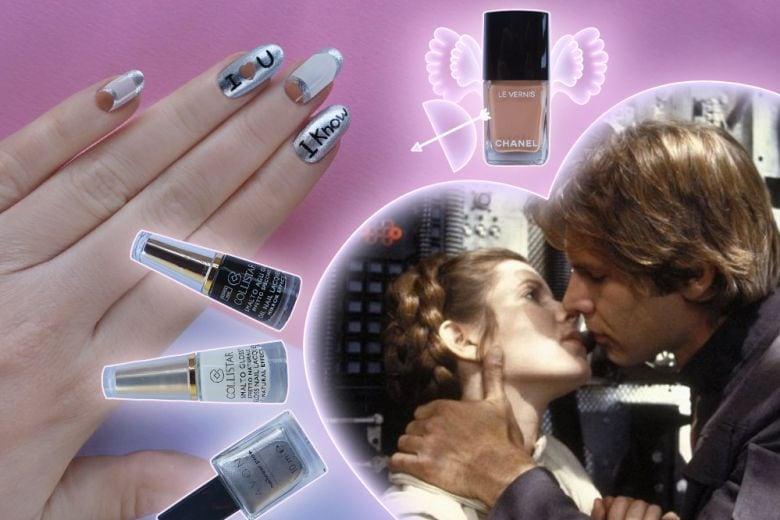 San Valentino: la nail art della Principessa Leila creata da Non Solo Kawaii