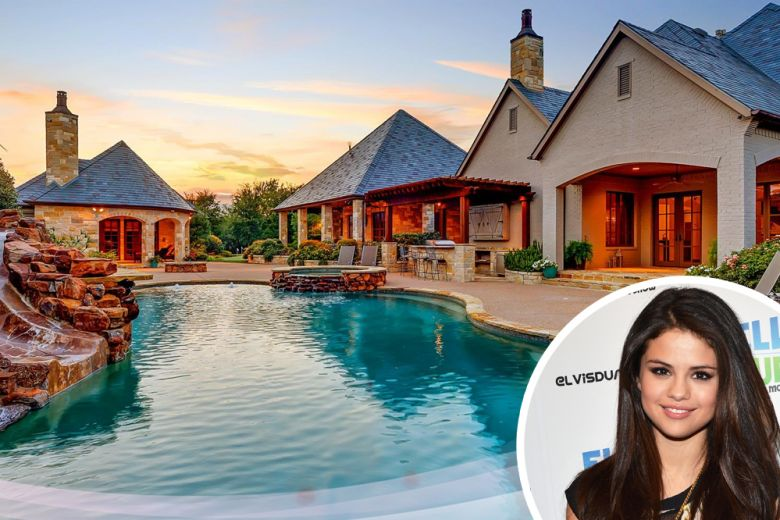 La casa di Selena Gomez a Fort Worth, in Texas