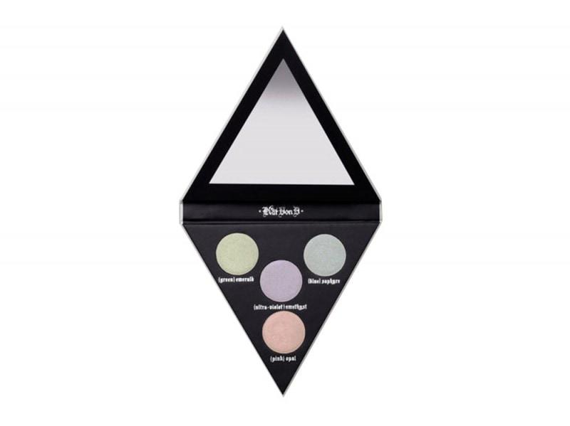 illuminanti viso colorati kat von d alchemist holographic palette