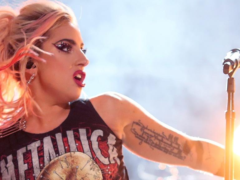 lady gaga tatuaggio