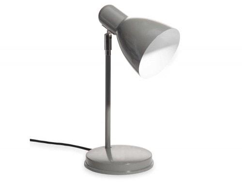 Lampada da ufficio in metallo color grigio ella