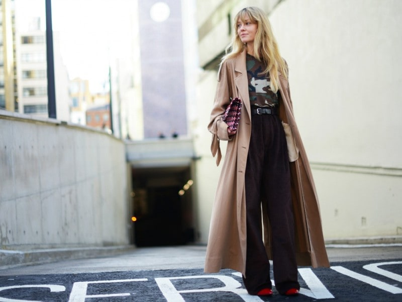 london street style 17 trench lungo
