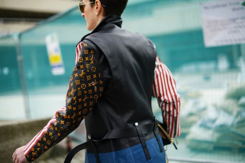 londra street style louis vuitton giacca