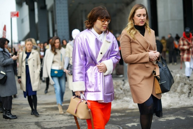 new york street style 17 giacca cangiante