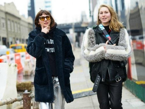 Street Style  le foto della New York Fashion Week - Grazia.it 8c2cebe270c