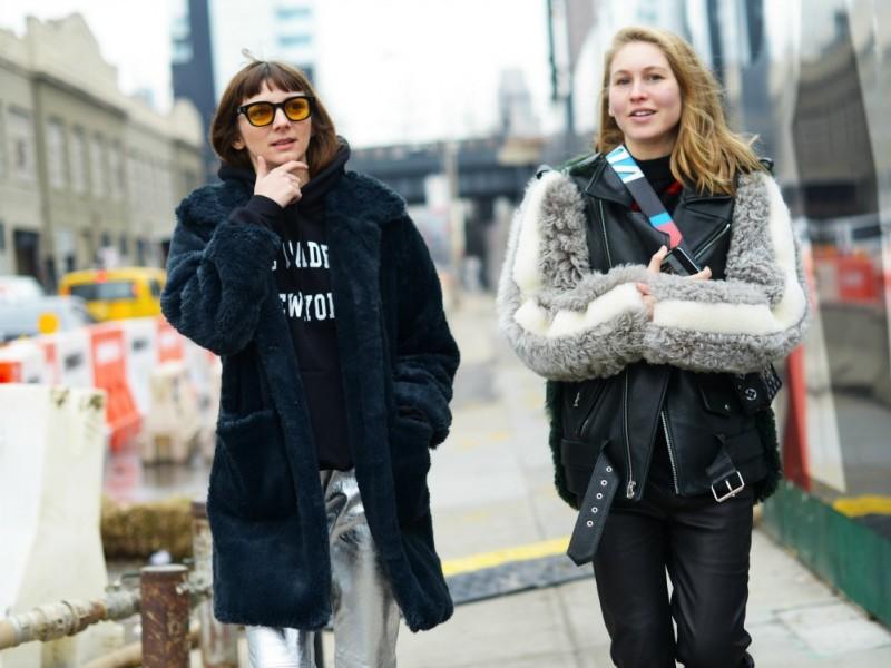 new york street style 17 occhiali gialli