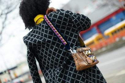 new york street style 17 tracolla borsa fendi