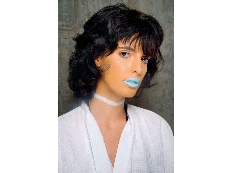nuance insolite per labbra (azzurro, blu, verde)