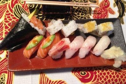 sushi kiosco