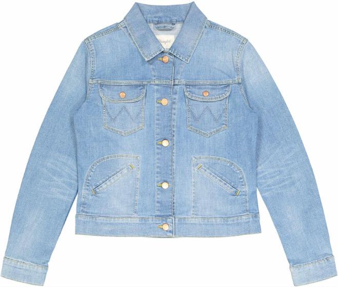 wrangler giacca jeans