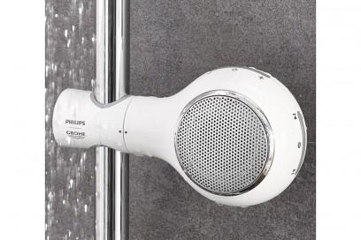 10-bagno-moderno-le-10-mosse-per-non-sbagliare-Speaker-bluethoot-Aquatunes-Grohe-Philips