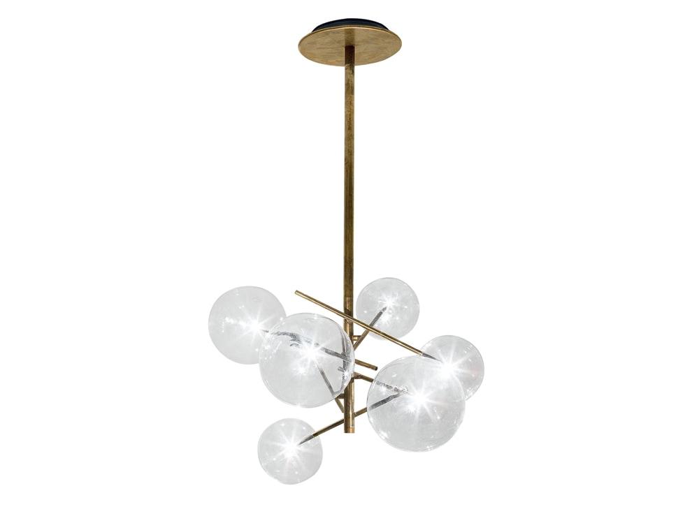 15-lampadari-moderni-bolle-gallotti-e-radice-ottone-3 - Foto - Grazia.it
