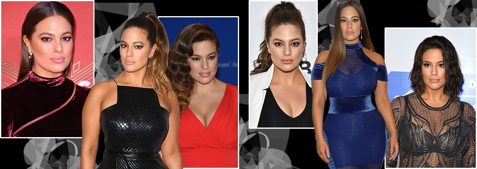 Ashley Graham beauty look trucco capelli collage_desktop
