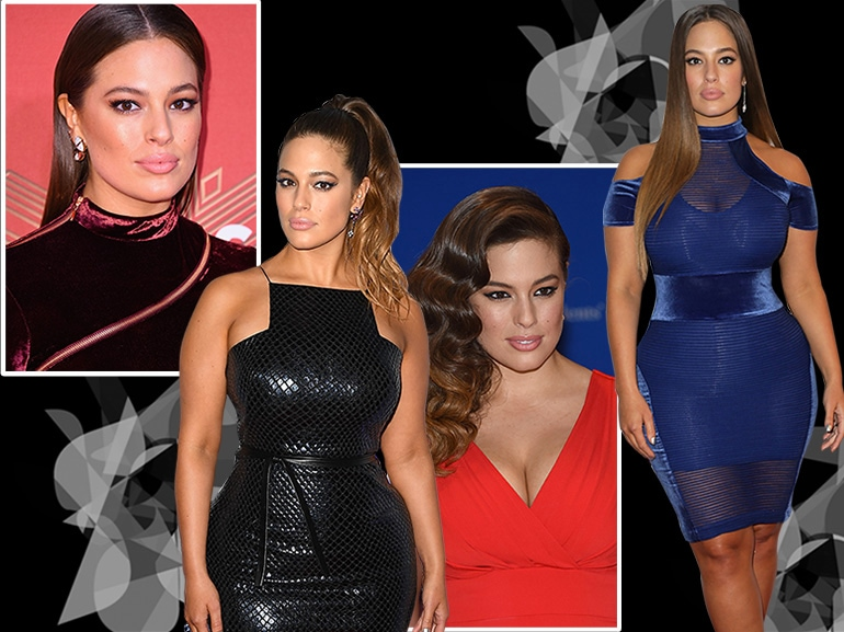 Ashley Graham beauty look trucco capelli collage_mobile