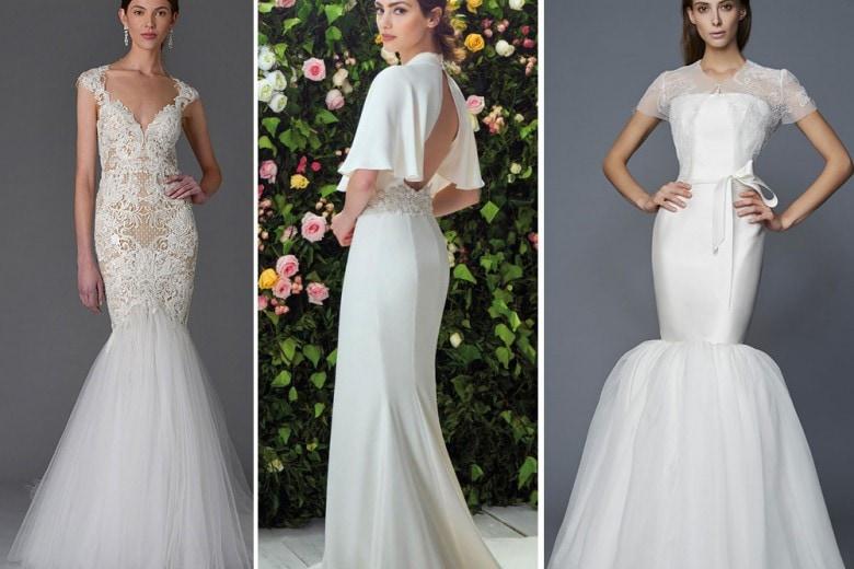 Abiti da sposa a sirena: guida ai modelli 2017
