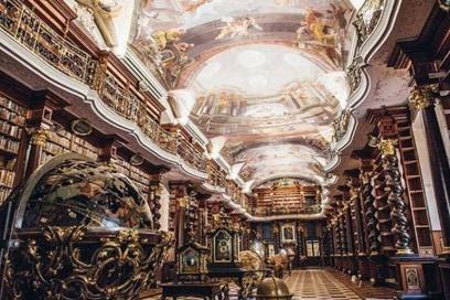 Clementine library prague
