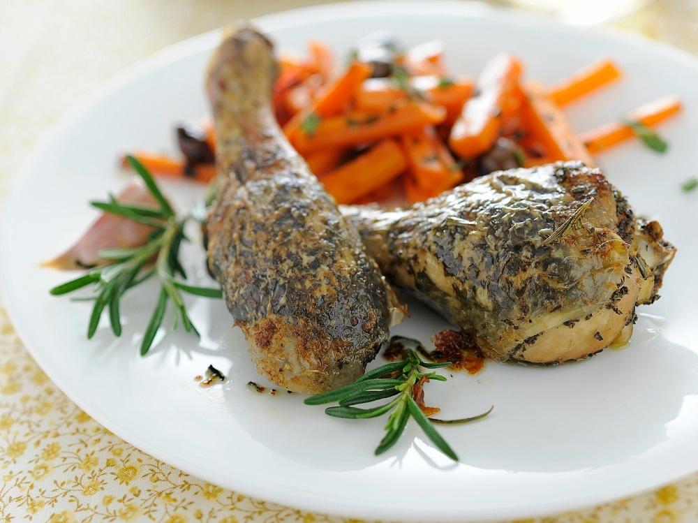 Cosce di pollo aromatiche