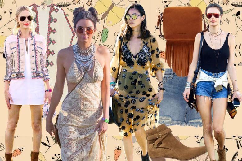 Coachella Style: i capi e i look da festival per la primavera