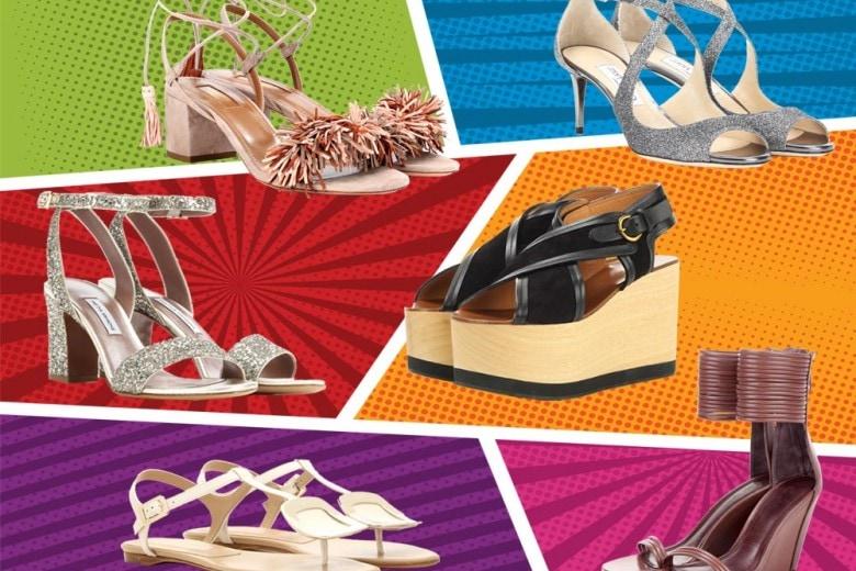 I sandali per la Primavera-Estate 2017