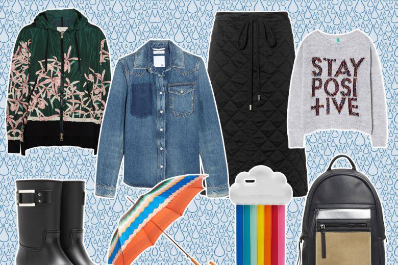 Come vestirsi in caso di pioggia: i look per la primavera