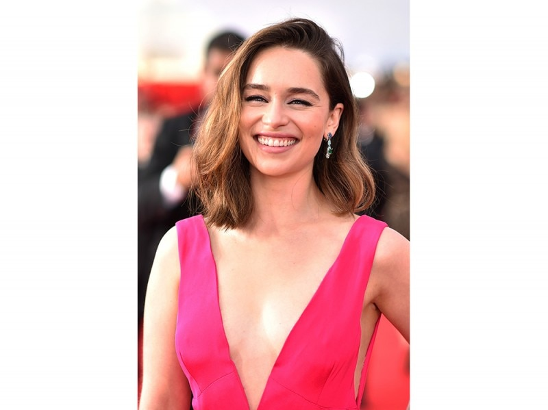 Emilia Clarke caschetto lungo