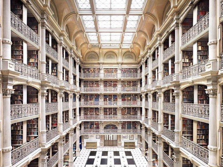 George Peabody library baltimore