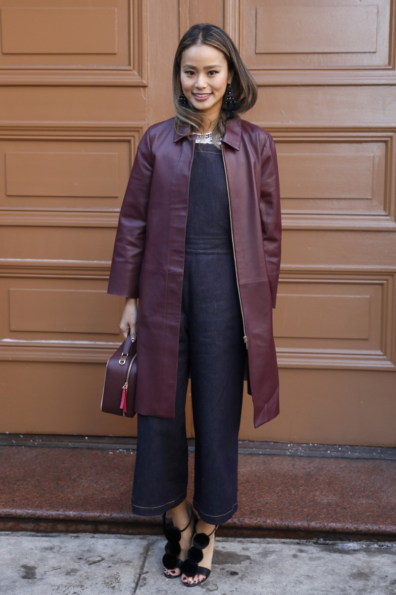 Actress Jamie Chung attends Kate Spade Fall-Winter 2017-18 during New York Fashion Week in New York City