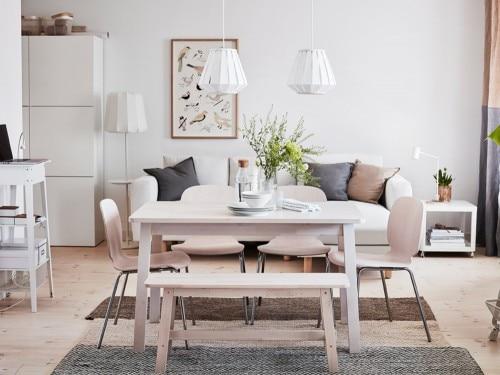 Tavolo Vetro E Acciaio Ikea.Tavoli Ikea I Modelli Piu Belli Per Living E Cucina Grazia