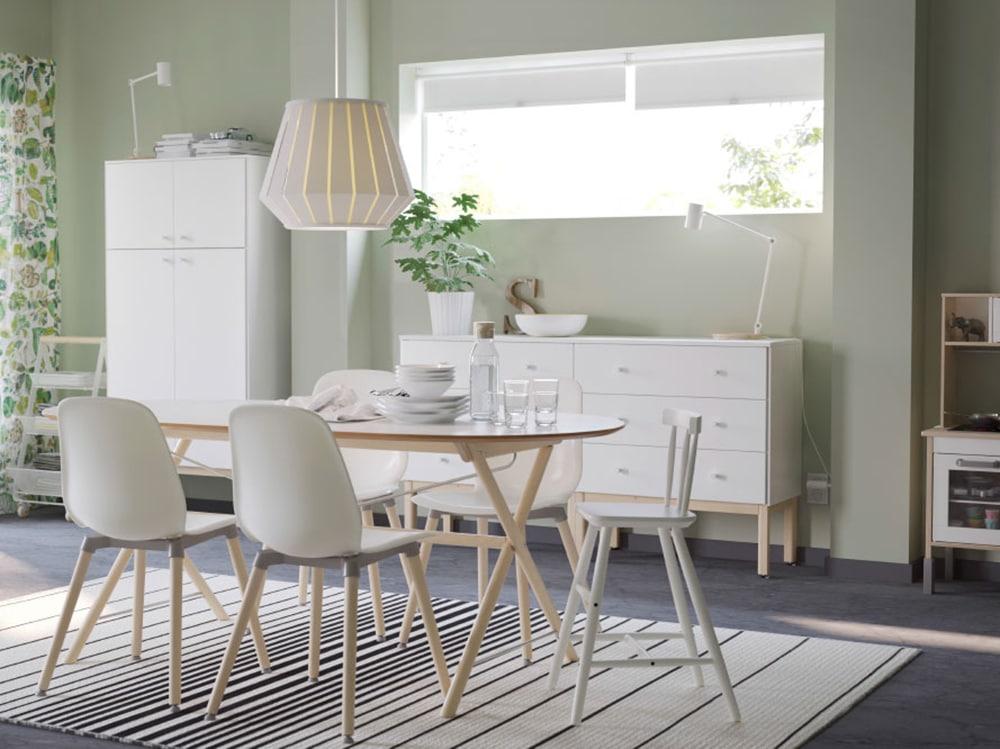 Tavolo Vetro Rotondo Ikea.Tavoli Ikea I Modelli Piu Belli Per Living E Cucina Grazia