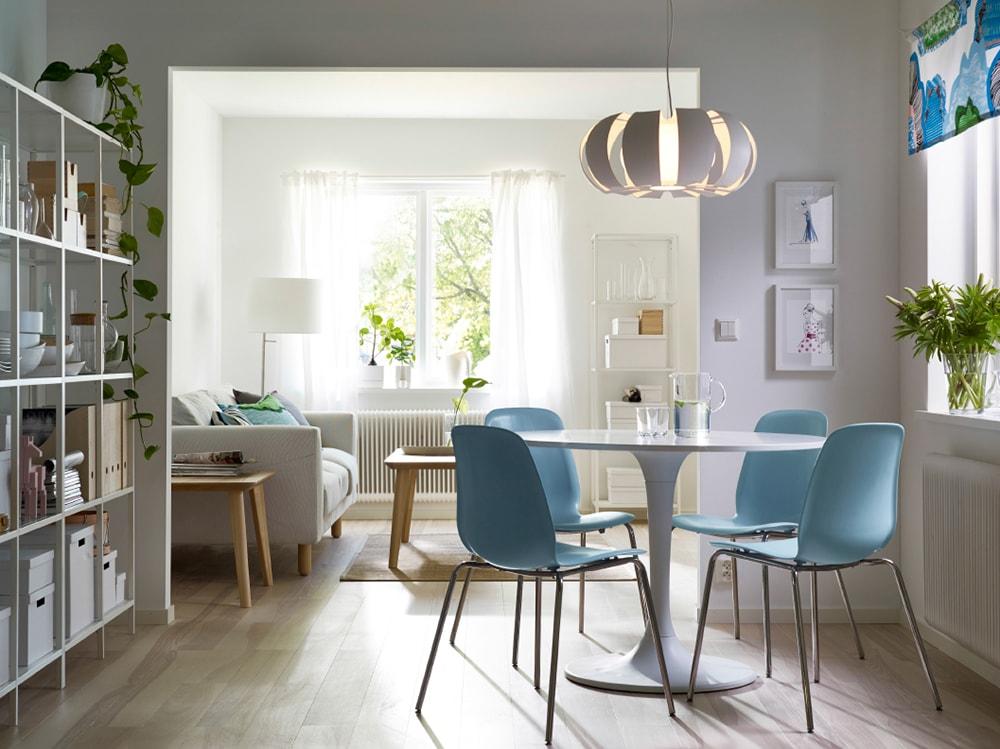 Ikea Tavoli In Vetro Allungabili.Tavoli Ikea I Modelli Piu Belli Per Living E Cucina Grazia