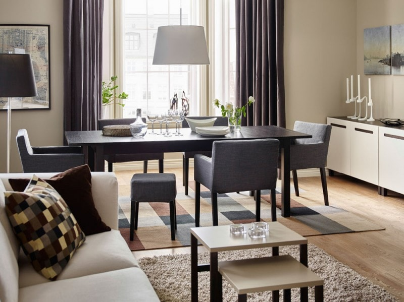 Tavoli In Legno Ikea : Tavoli ikea i modelli più belli per living e cucina grazia