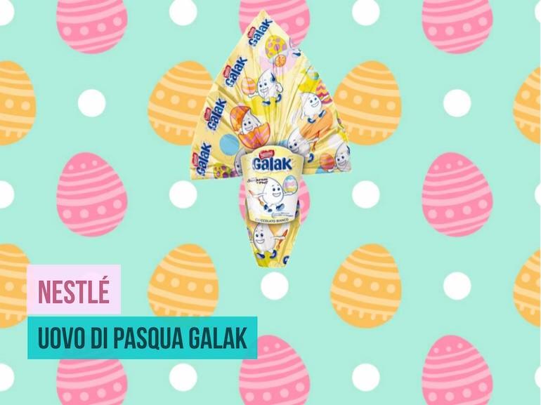 Uovo di Pasqua Galak Nestle 2017