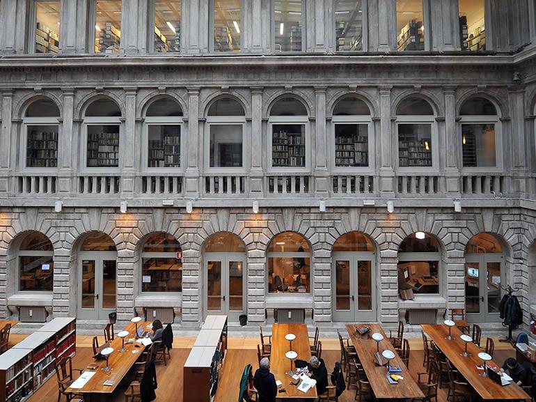 biblioteca marciana venezia