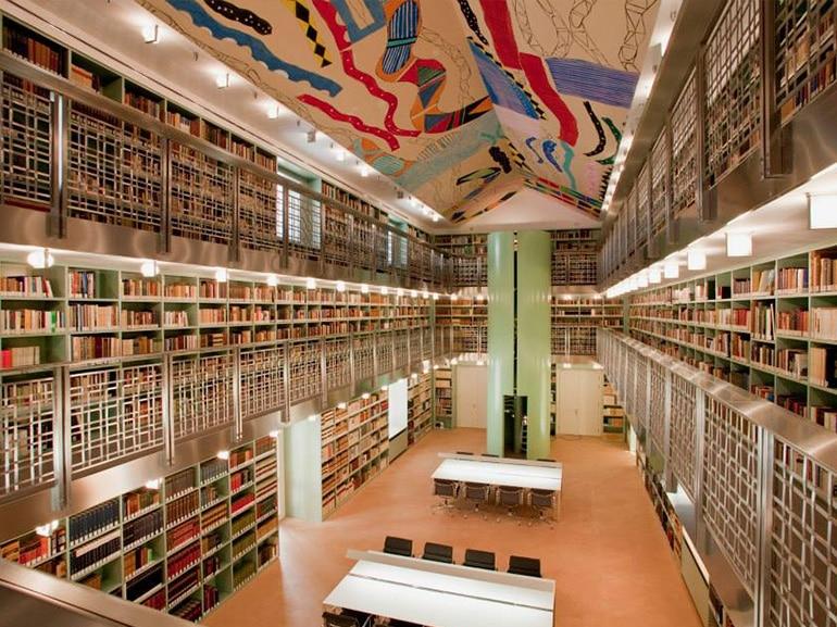 biblioteca palazzo branciforte palermo