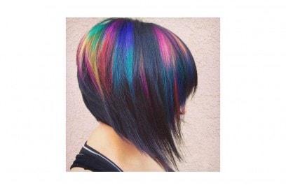 capelli arcobaleno corti  (2)