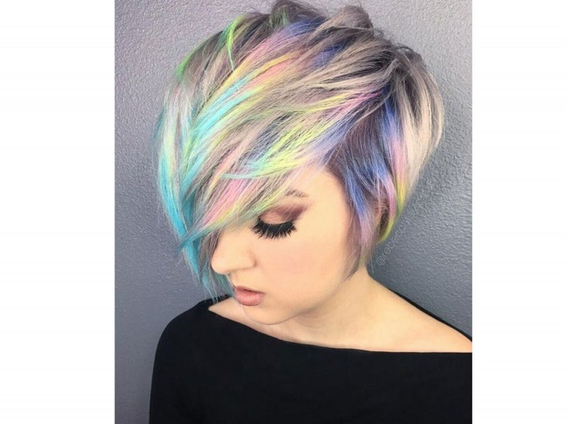 capelli arcobaleno corti  (4)