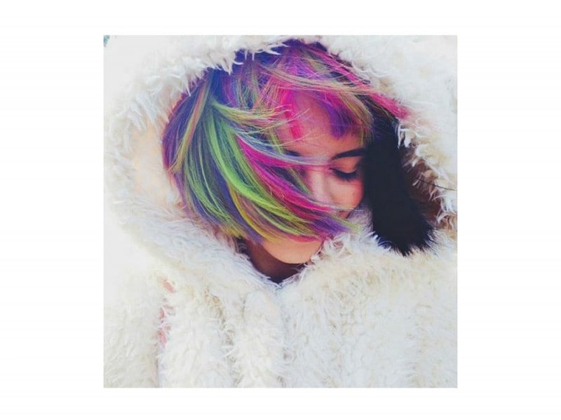 capelli arcobaleno corti  (7)