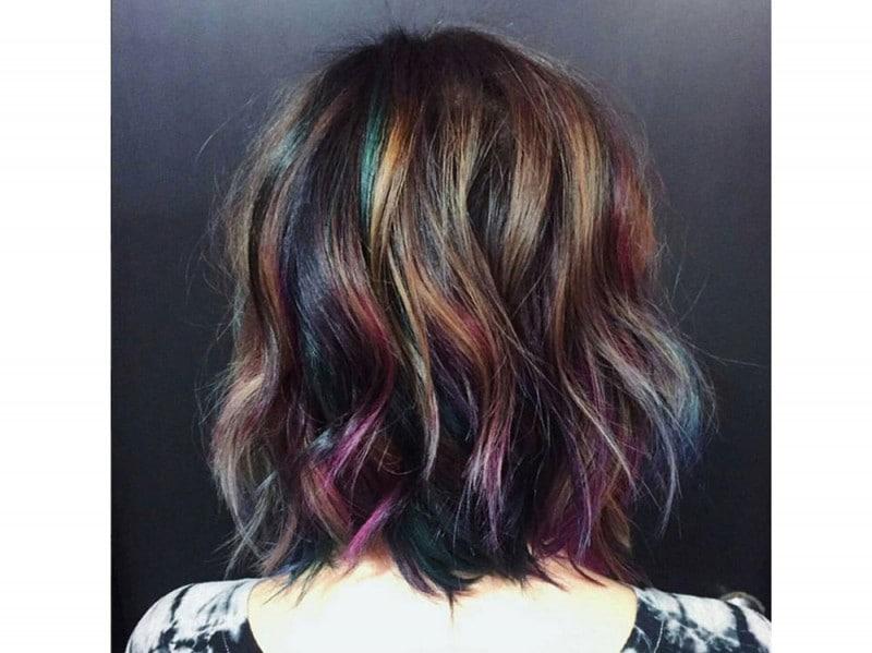 capelli arcobaleno corti  (9)