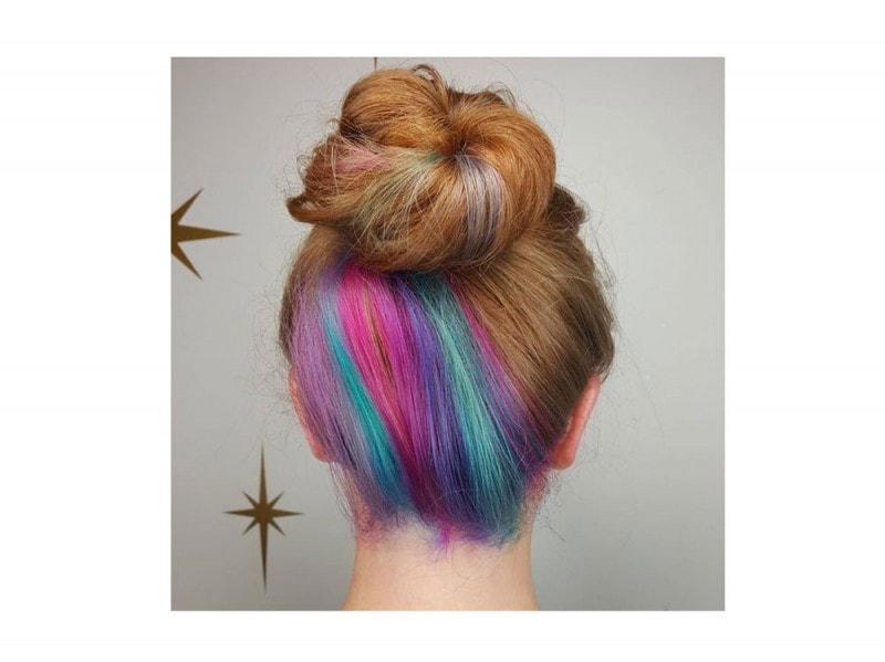 capelli arcobaleno sotto (9) 7342e0719756