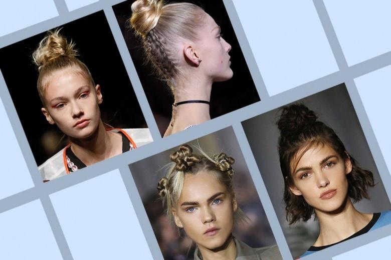 Capelli: tendenza top knot per la Primavera-Estate 2107
