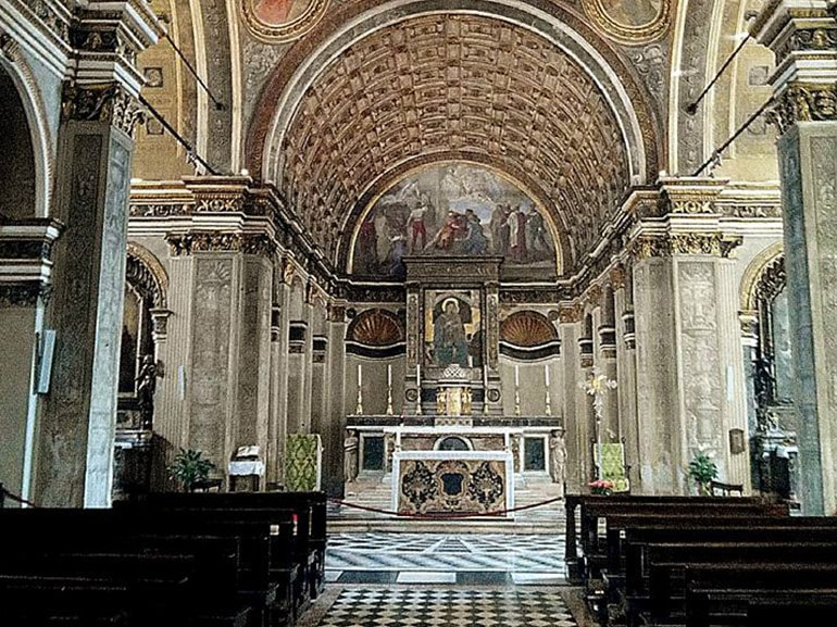 chiesa santa maria presso san satiro