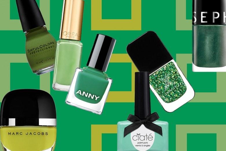 Manicure verde: tutti gli smalti per realizzarla dal Greenery al verde smeraldo