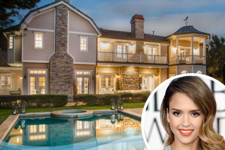 La nuova casa di Jessica Alba a Beverly Hills