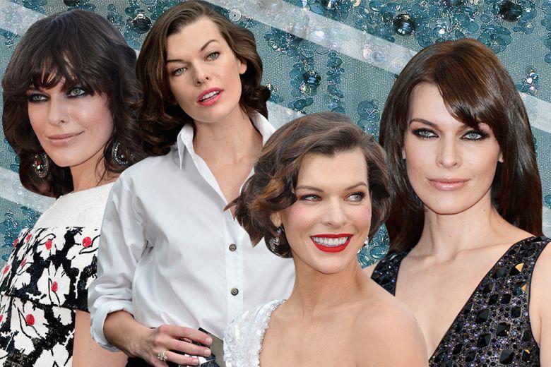 Milla Jovovich make up: i migliori beauty look dell'attrice e super top