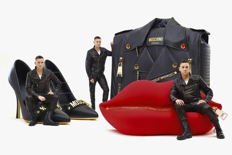 Moschino Kisses Gufram: la collezione speciale per il Salone del Mobile 2017