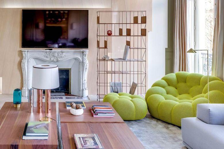 Parigi, un appartamento fra rigore classico e design